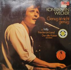 Konstantin Wecker – албум Genug Ist Nicht Genug