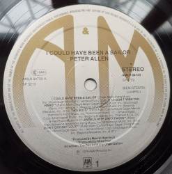 Peter Allen – албум I Could Have Been A Sailor