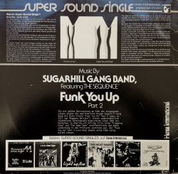 Sugarhill Gang Band Featuring The Sequence – сингъл Funk You Up, Part 2