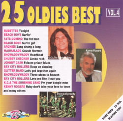 Various ‎– албум 25 Oldies Best Vol. 4 (CD)