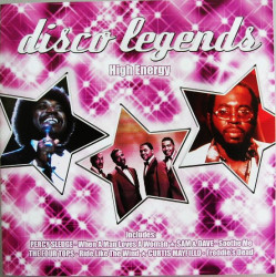 Various ‎– албум Disco Legends - High Energy (CD)