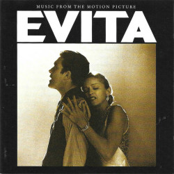 Andrew Lloyd Webber And Tim Rice ‎– албум Evita (Music From The Motion Picture) (CD)