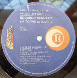 Edoardo Bennato – албум La Torre Di Babele