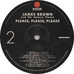 James Brown And His Famous Flames – албум Please Please Please