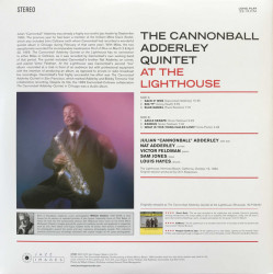 The Cannonball Adderley Quintet – албум At The Lighthouse
