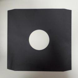 Вътрешен черен офсетов плик за съхранение на 12' грамофонна плоча