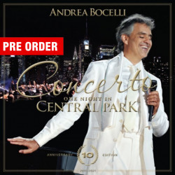 Andrea Bocelli - албум One Night In Central Park