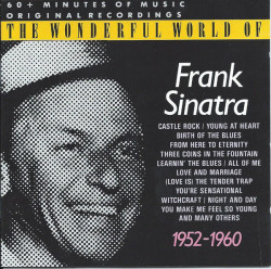 Frank Sinatra ‎– албум The Wonderful World Of Frank Sinatra - 1952-1960 (CD)