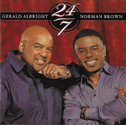 Gerald Albright & Norman Brown ‎– албум 24/7 (CD)