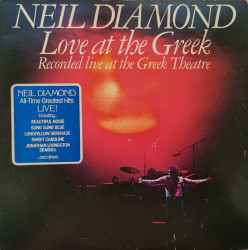 Neil Diamond ‎– албум Love At The Greek - Recorded Live At The Greek Theatre