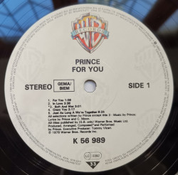 Prince ‎– албум For You