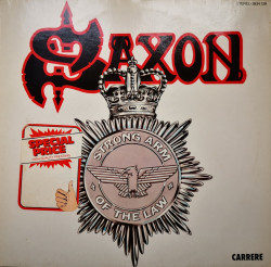 Saxon ‎– албум Strong Arm Of The Law
