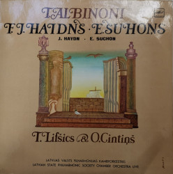 T. Albinoni, F.J. Haidns, E. Suhons - T. Lifšics & O. Cintiņš, Latvian State Philharmonic Society Chamber Orchestra – албум Live
