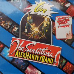 The Sensational Alex Harvey Band ‎– албум Live