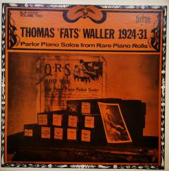 "Thomas ""Fats Waller – албум 1924-1931 Parlor Piano Solos From Rare Piano Rolls Vol. 2"