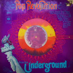 Various ‎– албум Pop Revolution From The Underground