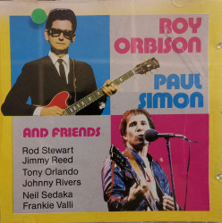 Various ‎– албум Roy Orbison, Paul Simon & Friends (CD)