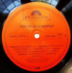 Various ‎– албум Top Of Austropop