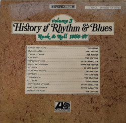 Various – албум History Of Rhythm & Blues Volume 3 Rock & Roll 1956-57