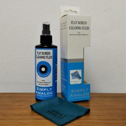 Почистващ спрей за монитори (200 мл.) + микрофибърна кърпа