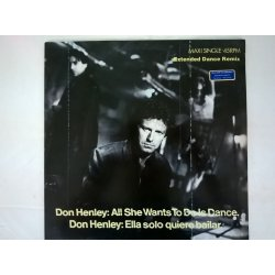 Don Henley ‎– сингъл All She Wants To Do Is Dance