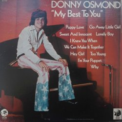 Donny Osmond ‎– албум My Best To You