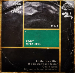 Eddy Mitchell With Jean Bouchety And His Orchestra – сингъл Little Town Flirt