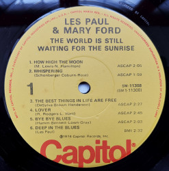 Les Paul & Mary Ford ‎– албум The World Is Still Waiting For The Sunrise