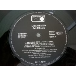 Lisa Nemzo – албум Out Of Desire