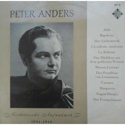 Peter Anders – албум Historische Aufnahmen 1934 - 1942