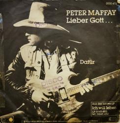 Peter Maffay – сингъл Lieber Gott ... / Dafür