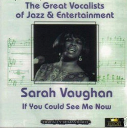 Sarah Vaughan – албум If You Could See Me Now (CD)