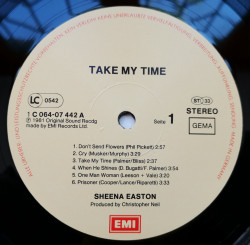Sheena Easton ‎– албум Take My Time