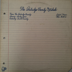 The Partridge Family Starring Shirley Jones (2) Featuring David Cassidy – албум The Partridge Family Notebook