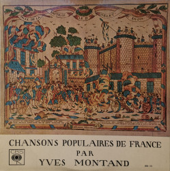 Yves Montand – албум Chansons Populaires De France