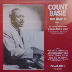 Count Basie – албум Volume 3 -1941 The Alternate Takes In Chronological Order (CD)