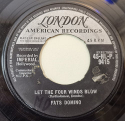 Fats Domino – сингъл Let The Four Winds Blow / Good Hearted Man