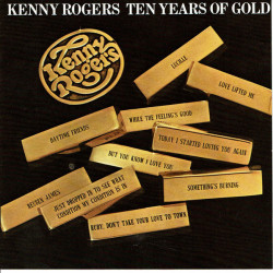 Kenny Rogers – албум Ten Years Of Gold (CD)