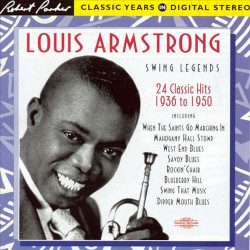 Louis Armstrong ‎– албум Swing Legends • 24 Classic Hits (CD)
