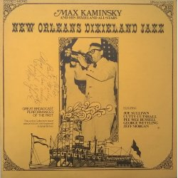 Max Kaminsky And His Dixieland All-Stars ‎– албум New Orleans Dixieland Jazz