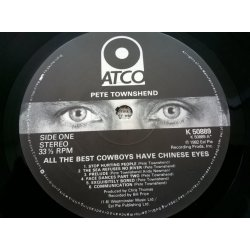 Pete Townshend – албум All The Best Cowboys Have Chinese Eyes