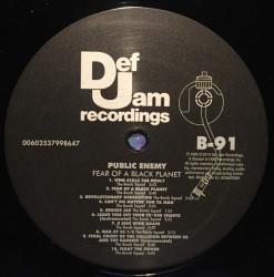 Public Enemy – албум Fear Of A Black Planet