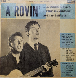 Robin Hall And Jimmie MacGregor with The Galliards ‎– албум A Rovin'