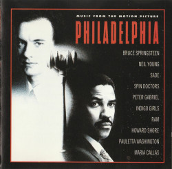 Various – албум Philadelphia (Music From The Motion Picture) (CD)