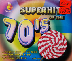 Various ‎– албум The World Of Superhits Of The 70s (CD)