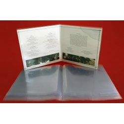 Външен найлонов плик за съхранение на двойни (gatefold) 12' грамофонни плочи