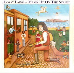 Corky Laing – албум Makin' It On The Street (CD)