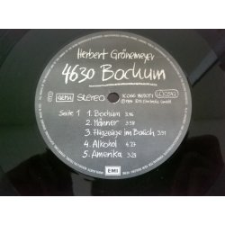 Herbert Grönemeyer – албум 4630 Bochum