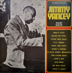 Jimmy Yancey – албум Piano Solos