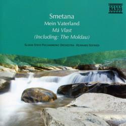 Smetana / Slovak State Philharmonic Orchestra (Košice), Reinhard Seifried – албум Má Vlast (CD)